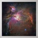 La opinión más aguda de Hubble de la nebulosa de O Posters