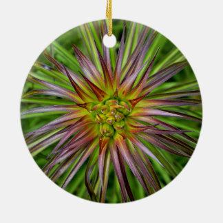 La opinión superior un Lilium Regale la flor del l Ornamento De Navidad