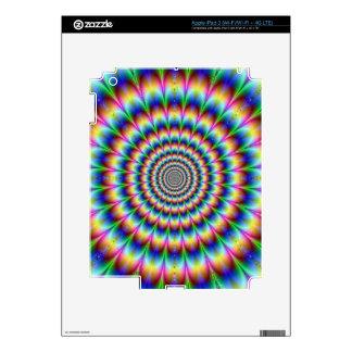 La óptica psicodélica iPad 3 pegatina skin