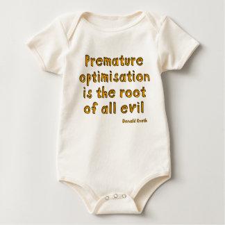 La optimización prematura es la raíz de todo el mamelucos