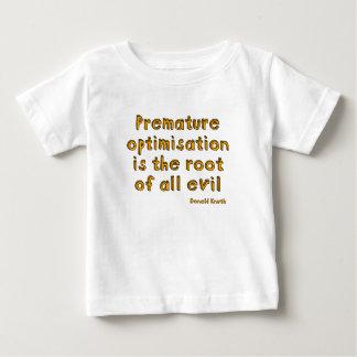 La optimización prematura es la raíz de todo el playeras