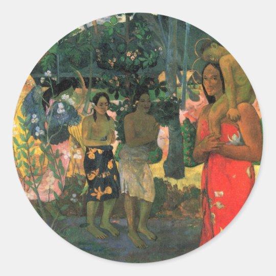 'La Orana Maria' - Paul Gauguin Sticker