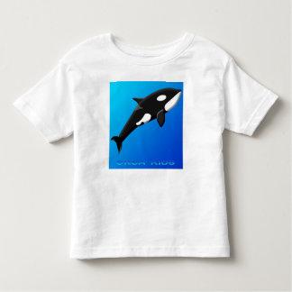 La orca embroma al niño T Playera De Bebé