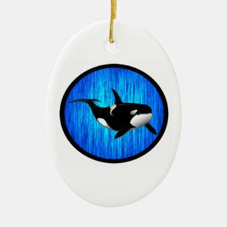 LA ORCA SERENA ORNAMENTO DE NAVIDAD