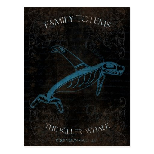 La orca tarjeta postal