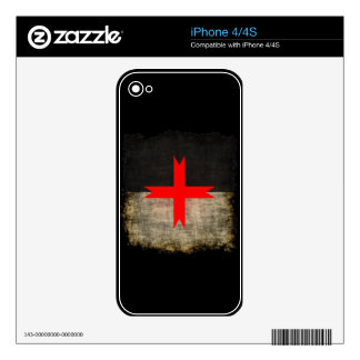 La orden de los caballeros de Templar Calcomanías Para El iPhone 4S
