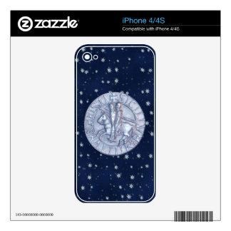 La orden de los caballeros de Templar iPhone 4S Skins