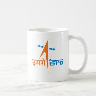 La organización de investigación india del espacio taza de café
