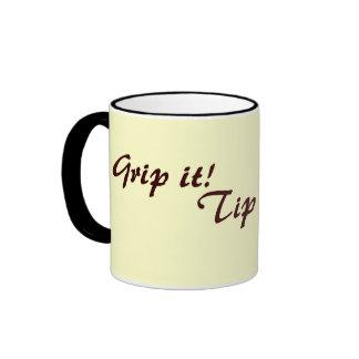 la original graciosamente bebe té o el café del le taza