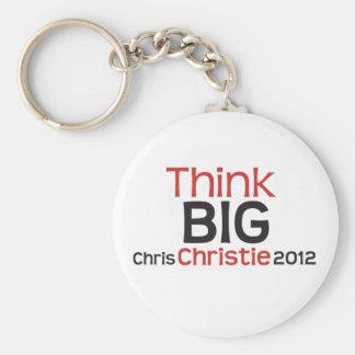 La original piensa a Chris GRANDE Christie 2012 Llaveros