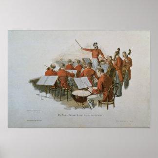 La orquesta de Juan Strauss en una bola de la cort Impresiones