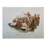 La orquesta de Juan Strauss en una bola de la cort Postales