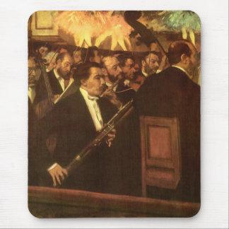 La orquesta de la ópera de Edgar Degas, arte del Alfombrillas De Ratones