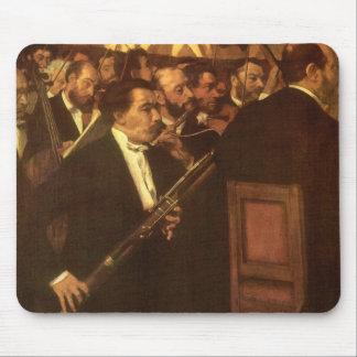 La orquesta de la ópera de Edgar Degas, arte del Tapetes De Ratón