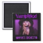 La orquesta del vampiro de Vamplified Imán Cuadrado