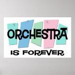 La orquesta es Forever Posters