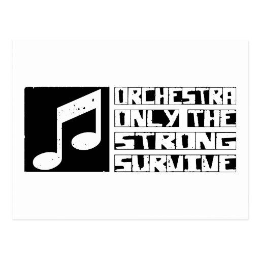 La orquesta sobrevive postales