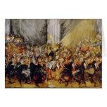 La orquesta tarjetas