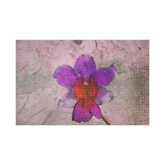 La orquídea de Gunge estiró la impresión de la lon Lienzo Envuelto Para Galerías