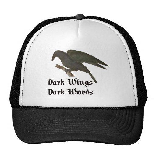 La oscuridad se va volando el casquillo oscuro del gorras