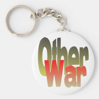 la otra guerra llavero redondo tipo pin