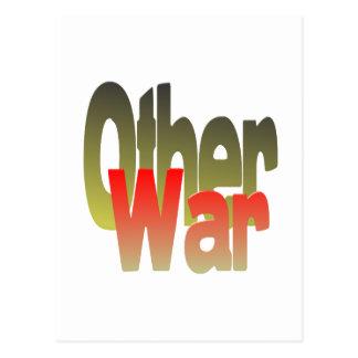 la otra guerra tarjeta postal