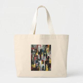 La otra noche (expresionismo abstracto) bolsa
