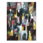 La otra noche (expresionismo abstracto) postales