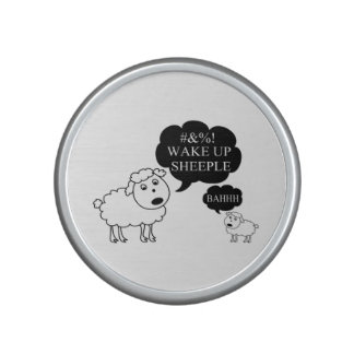 La oveja dice despierta Sheeple Altavoz Bluetooth