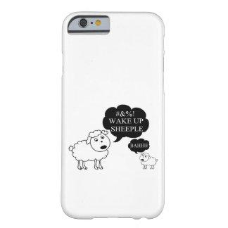 La oveja dice despierta Sheeple Funda Barely There iPhone 6