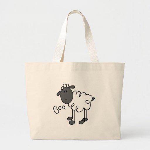 La oveja dice las camisetas y los regalos del Baa Bolsas