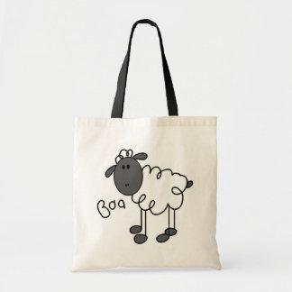 La oveja dice las camisetas y los regalos del Baa Bolsa De Mano