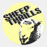 la oveja emociona a los pegatinas