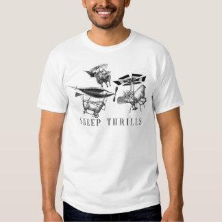 La oveja emociona la camiseta playeras