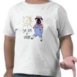La oveja es mi camiseta del niño de la sol