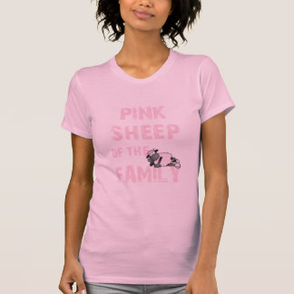 La oveja rosada junta con te todos los estilos de playeras