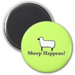 ¡La oveja sucede! Imán Para Frigorifico