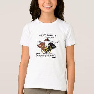 La Pa 20th Girls Ringer T-Shirt