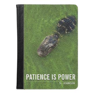 La paciencia es poder • Cocodrilo • el
