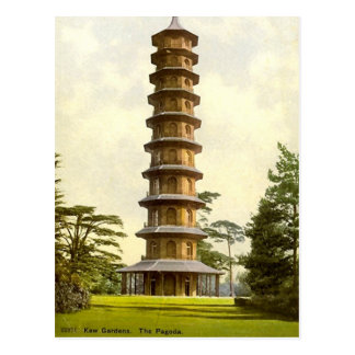 La pagoda, jardines de Kew Postales