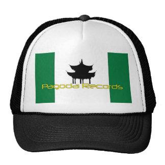 La pagoda registra el gorra