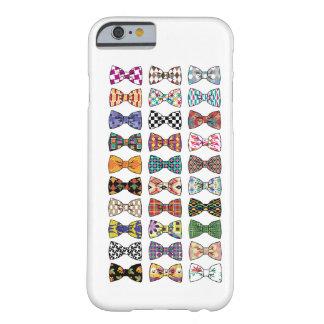 La pajarita decorativa hermosa modela iPhone 6 cas Funda De iPhone 6 Barely There