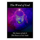 La palabra de dios tarjetón