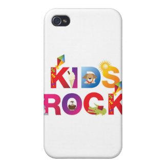 La palabra embroma la roca iPhone 4 carcasa