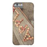 La palabra '' en manzanas funda barely there iPhone 6