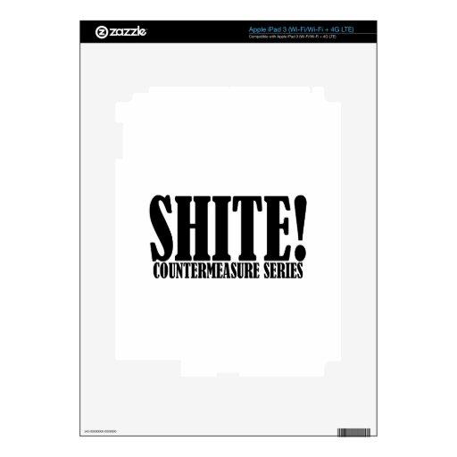 ¡La palabra famosa de Trevor - Shite! iPad 3 Skin