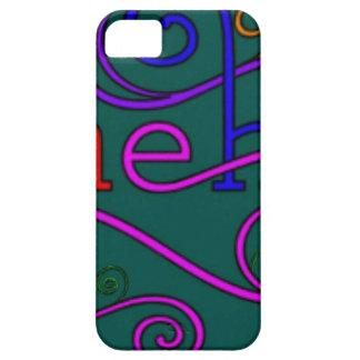 """La palabra preferida """"meh """" de Liz Funda Para iPhone 5 Barely There"""