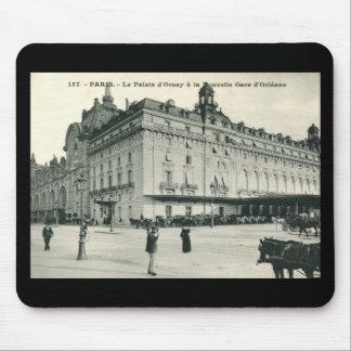 La Palais d Orsay Paris 1908 Vintage Mousepads