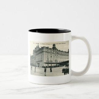 La Palais d Orsay Paris 1908 Vintage Mug