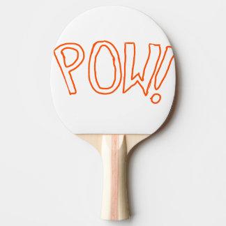 La paleta adicional de la expresión pala de ping pong